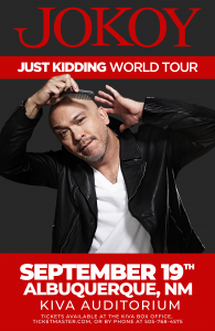 ICON Concerts presents Jo Koy: Just Kidding World Tour @ Kiva Auditorium at the Albuquerque Convention Center