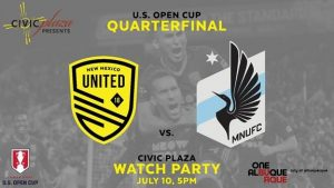 NM United Open Cup Watch Party @ Albuquerque Convention Center